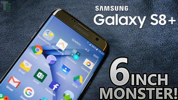 059099fdd بجانب هاتف Galaxy S8 ، كشفت لنا سامسونج أيضأً عن النسخة الأكبر Galaxy S8  Plus . هاتف Galaxy S8 Plus أكبر في الحجم و قياس الشاشة و سعة البطارية و  أغلى في ...