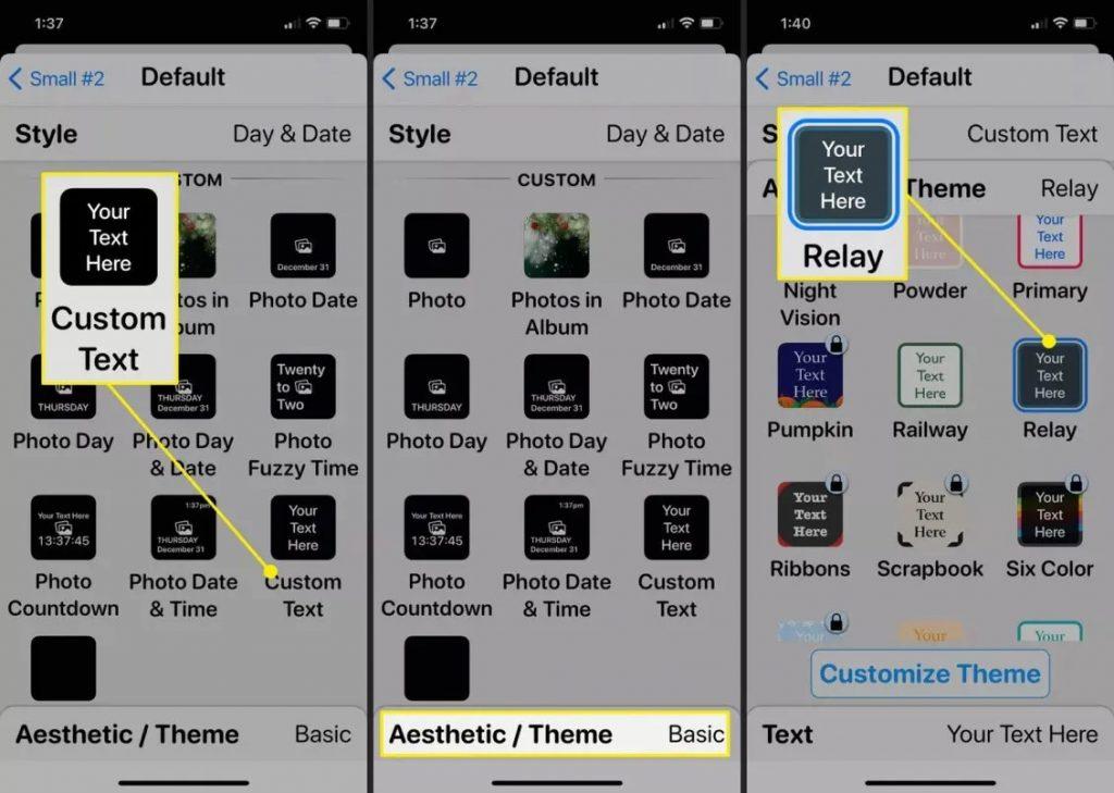 كيف تضيف طابع شخصي لهاتف آيفون الذي يعمل بنظام iOS 14؟