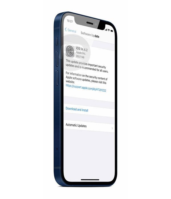 تحديث iOS 14.4.2 يصلح ثغرة أمنية خطيرة